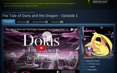 Doris and the Dragon has been Greenlit! Thank you so much!